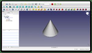 FreeCADの加算パイプの変わった使い方 〜円錐・正四面体の作成方法〜