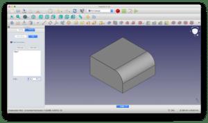 FreeCADで角を編集しよう〜カーブ形状のフィレットと平面形状の面取り〜