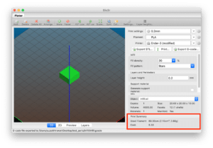 3Dプリンタ用スライスソフト Slic3rで実際にプリントしてみた 〜STLファイルの読み込みとスライシング〜