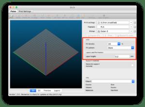 3Dプリンタ用スライスソフト Slic3rの設定 〜プリント設定 その6: その他の設定〜
