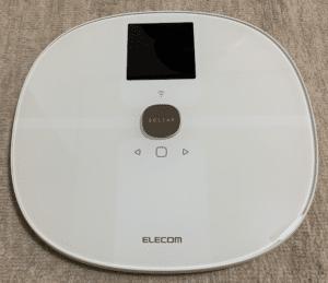 Wifi接続で日々の体重を自動で記録してくれる体重計 エレコム エクリア体組成計