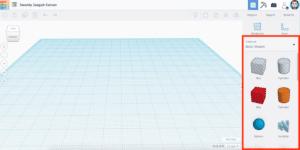 初心者が直感的にデザインできる無料3D CAD Tinkercad 〜その3:図形の紹介〜