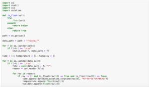 Pythonで温度・湿度ロガー IBS-TH1 PLUSのデータを分析してみる その5:データの変換と格納