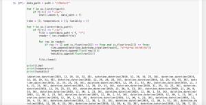 Pythonで温度・湿度ロガー IBS-TH1 PLUSのデータを分析してみる その7:プログラムの統合とバグ修正