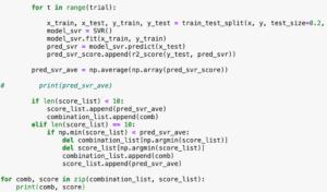Python機械学習ライブラリScikit-learn その29:糖尿病患者のデータセットを使って、SVRモデルで特徴...